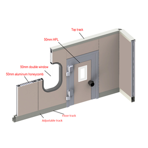 HPL partition wall system